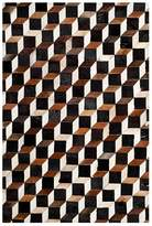 "Safavieh Studio Leather Collection Runner Rug, 2'3"" x 7'"