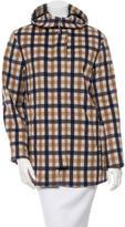 Aquascutum London Checkered Hooded Jacket