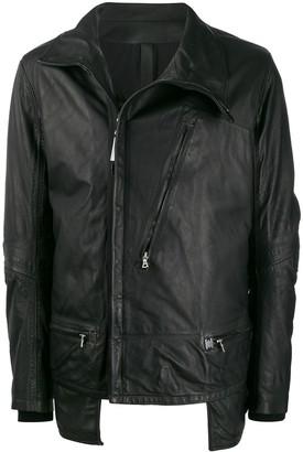 Isaac Sellam Experience Depasse leather zip jacket