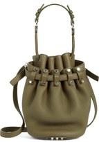Alexander Wang 'Small Diego - Nickel' Leather Bucket Bag