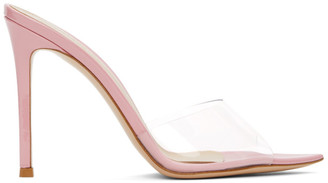Gianvito Rossi Pink Elle 105 Heeled Sandals