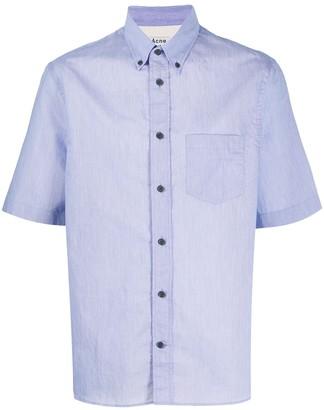Acne Studios Boxy-Fit Short-Sleeved Shirt