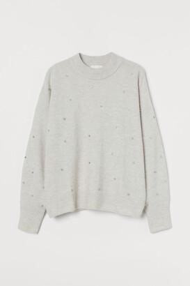 H&M Studded Sweater