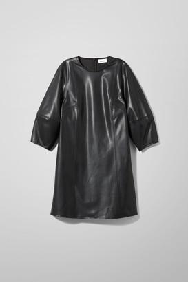 Weekday Meral Dress - Black