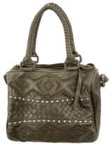 Cleobella Studded Leather Satchel