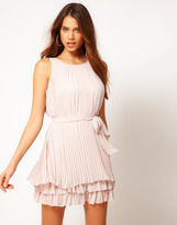 Lipsy Pleated Day Dress
