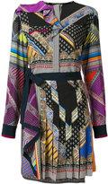Etro - printed pleat dress