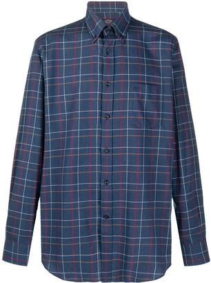 Paul & Shark Plaid-Print Button-Down Shirt