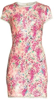 Rachel Zoe Lili Multicolor Sequin Mini Dress