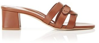 Marion Parke Billie | Interlocking Straps Block Heel Slide Sandal