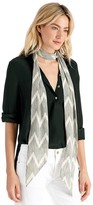 Sole Society Skinny Abstract Print Scarf