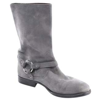 Bally Grey Suede Ankle boots