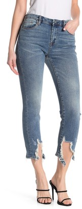 Blank NYC Deconstructed Straight Leg Jeans