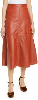 Rachel Comey Content Leather Skirt