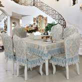 Tablecloths Euroean Lace Modern Table Cloth,Simle Rectangular Rural Tea Table Cloth
