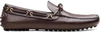 Car Shoe Tie Detail Loafers