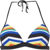 Dorothy Perkins Womens *Multi Stripe Bikini Top- Multi Colour