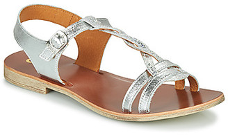 GBB EUGENA girls's Sandals in Silver