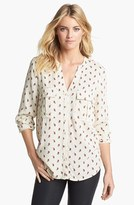 Vince Camuto Two by Paisley Print Utility Shirt