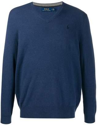 Ralph Lauren V-neck knitted jumper