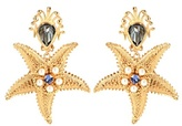 Dolce & Gabbana Clip-on crystal embellished earrings