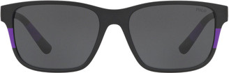 Ralph Lauren Colour-Blocked Sunglasses
