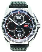 Chopard Millemiglia Chronograph 16/8459 Stainless Steel Black Dial Mens Watch