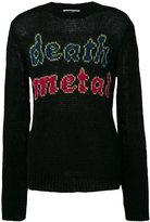 McQ by Alexander McQueen Death metal jumper - men - Polyamide/Wool/Kid Mohair - S