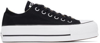 Converse Black Chuck Taylor All Star Lift Low Sneakers