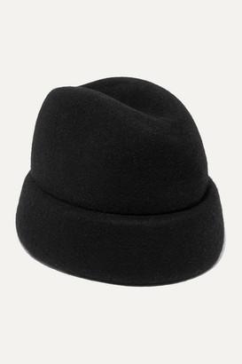 Gigi Burris Millinery + Net Sustain Sharina Wool-felt Hat - Black