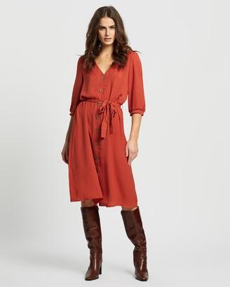 Only Amanda 3/4 Below Knee Dress
