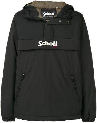 Schott Hooded Lightweight Jacket