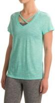 Marika Balance Collection Crisscross T-Shirt - Short Sleeve (For Women)
