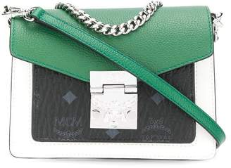 MCM mini colour block bag