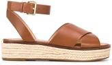 MICHAEL Michael Kors strappy design espadrille sandals