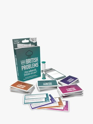 Unbranded Very British Problems Card Game