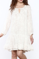 Gentle Fawn White A-Line Dress
