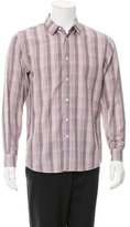 Marc Jacobs Plaid Button-Up Shirt