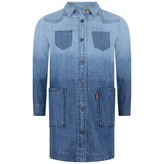 Levi's Levis KidswearGirls Blue Denim Heidi Dress