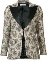 Faith Connexion floral jacquard blazer - women - Cotton/Acrylic/Polyamide/Polyester - 36
