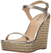 Badgley Mischka Women's Clea Espadrille Wedge Sandal