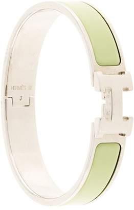 Hermes Pre-Owned H Logo Clic Clac bangle