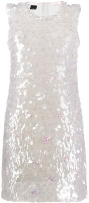 Pinko Iridescent Sequin Dress