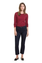 Country Road Contrast Stitch Top
