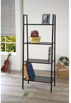 Acme Eason Black Bookcase