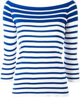 Dondup boat neck jumper - women - Cotton - S