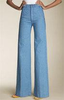True High Waist Stretch Trouser Jeans