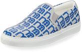 Anya Hindmarch Skater Mothercare Sneaker, Light Blue