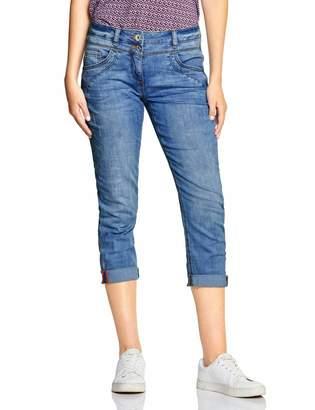 Cecil Women's 372299 Scarlett Straight Jeans
