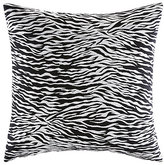 Betsey Johnson Rose Garden Zebra Pillow